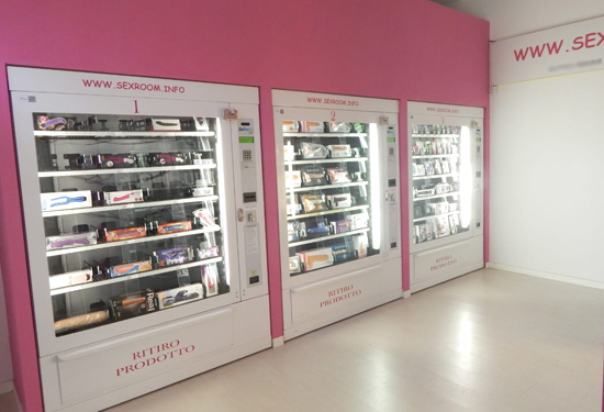 Sexy shop automatico Bologna